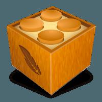 A brown box as the plugin icon symbol.